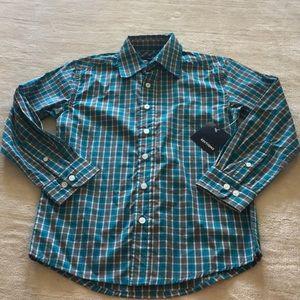 NWT Boys Button Down Shirt